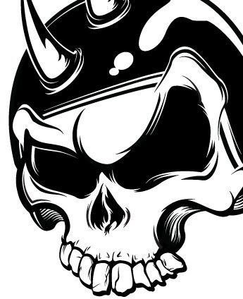 345x424 Best Skull Designs To Draw