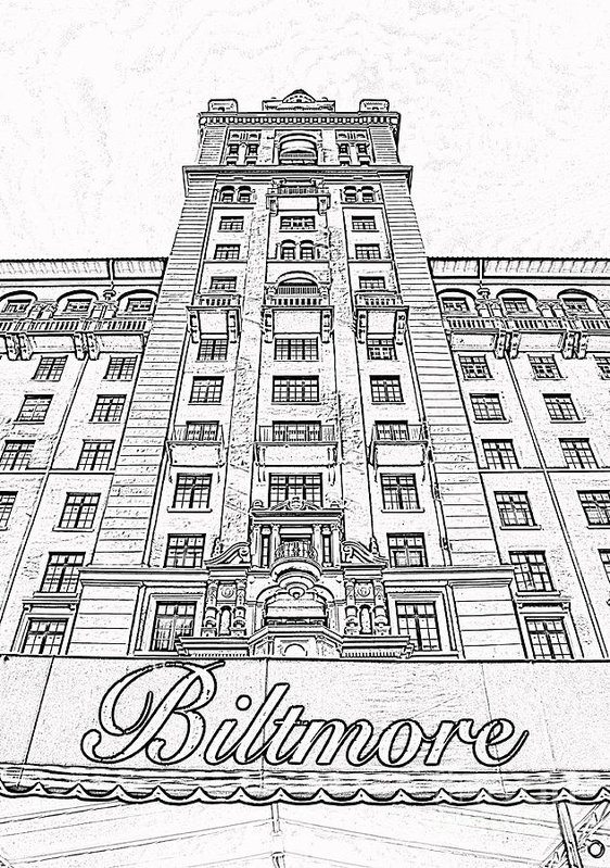 562x799 Biltmore Hotel Miami Coral Gables Florida Exterior Awning