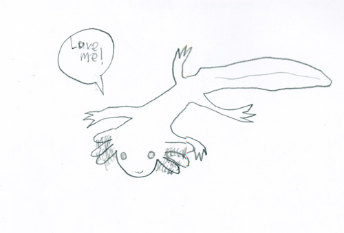 500x339 Friday Sprog Blogging The Axolotl. Adventures In Ethics And Science