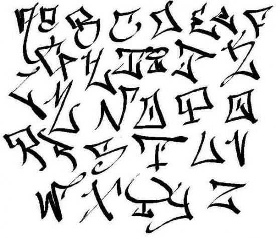 550x474 Tag Abc Graffiti Alphabet A Z Graffiti Graffiti