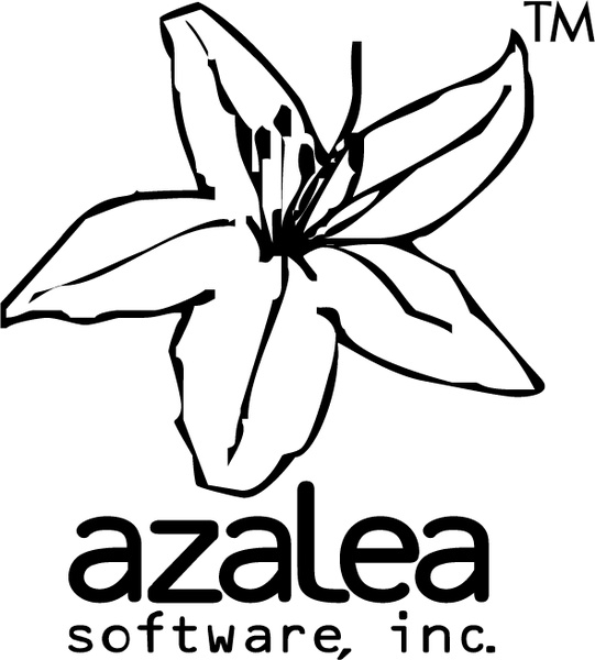 541x600 Azalea Software Free Vector In Encapsulated Postscript Eps ( Eps