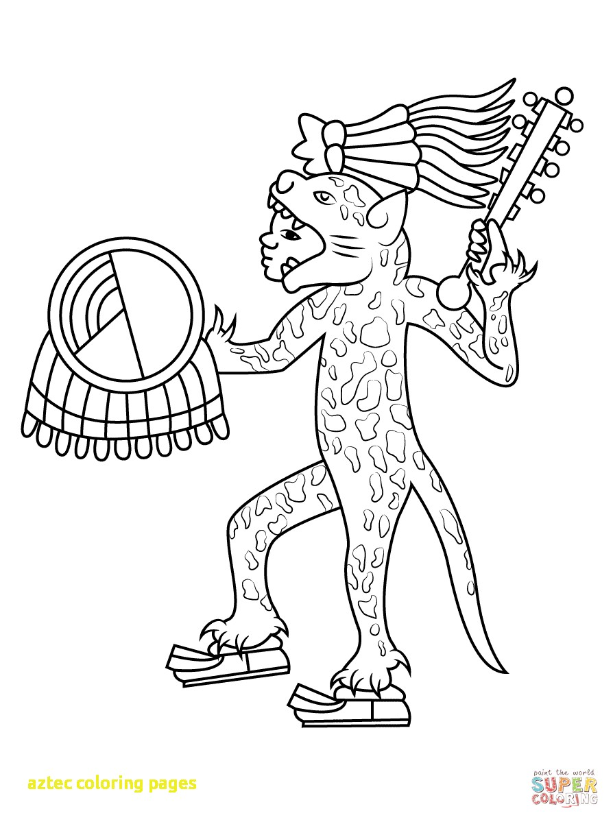 894x1199 Aztec Coloring Pages With Aztec Art Coloring Pages