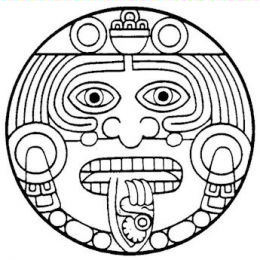 260x260 Aztec Tattoo Designs