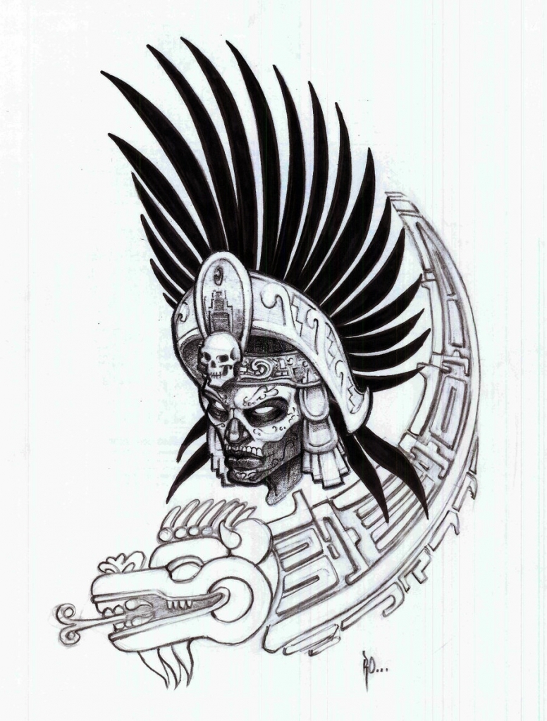 776x1024 Aztec Art Drawings Browsing Drawings