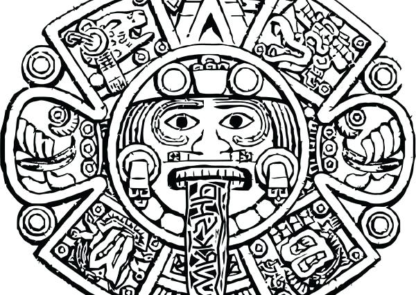 600x425 Aztec Coloring Pages X A Next Image A Wallpaper Coloring Pages