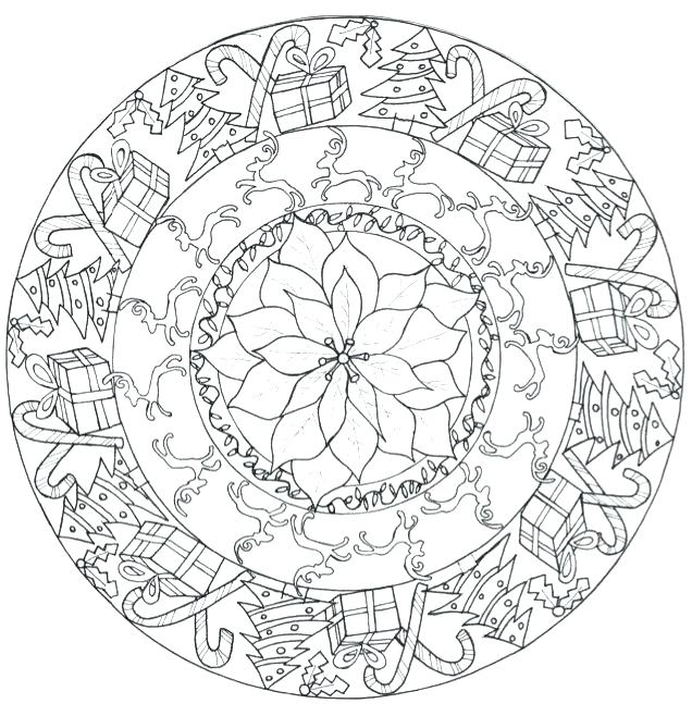 Aztec Calendar Drawing