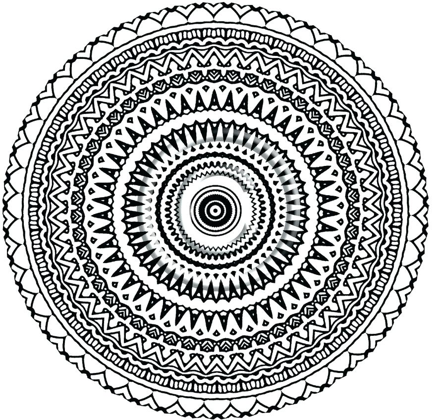 878x848 Aztec Calendar Coloring Page Codetracer.co
