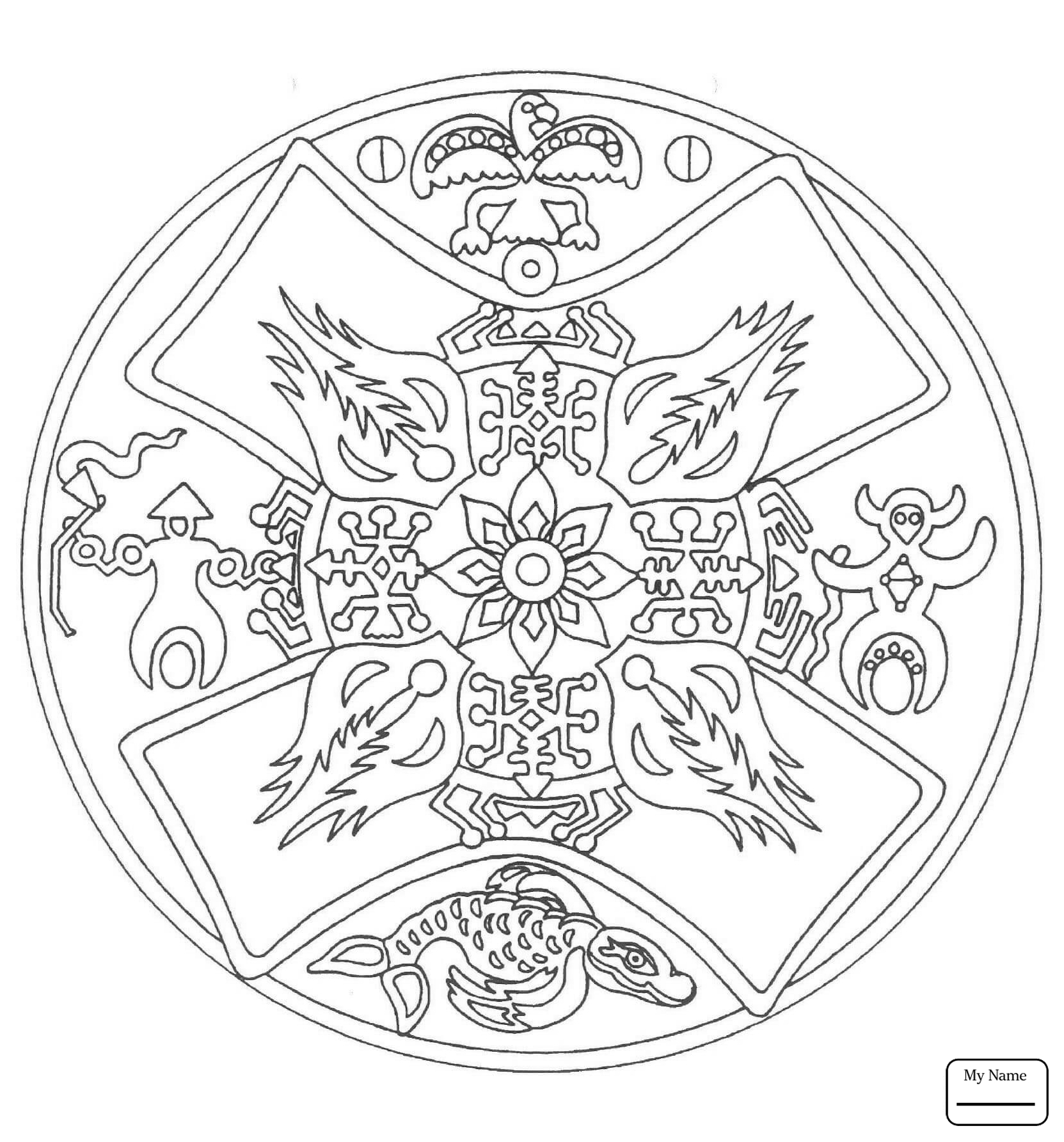 1663x1785 Coloring Pages For Kids Aztec Calendar Stone Arts Culture Native