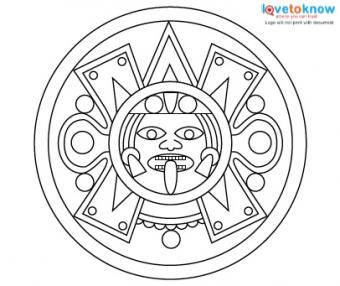 340x286 Aztec Tattoo Designs Lovetoknow