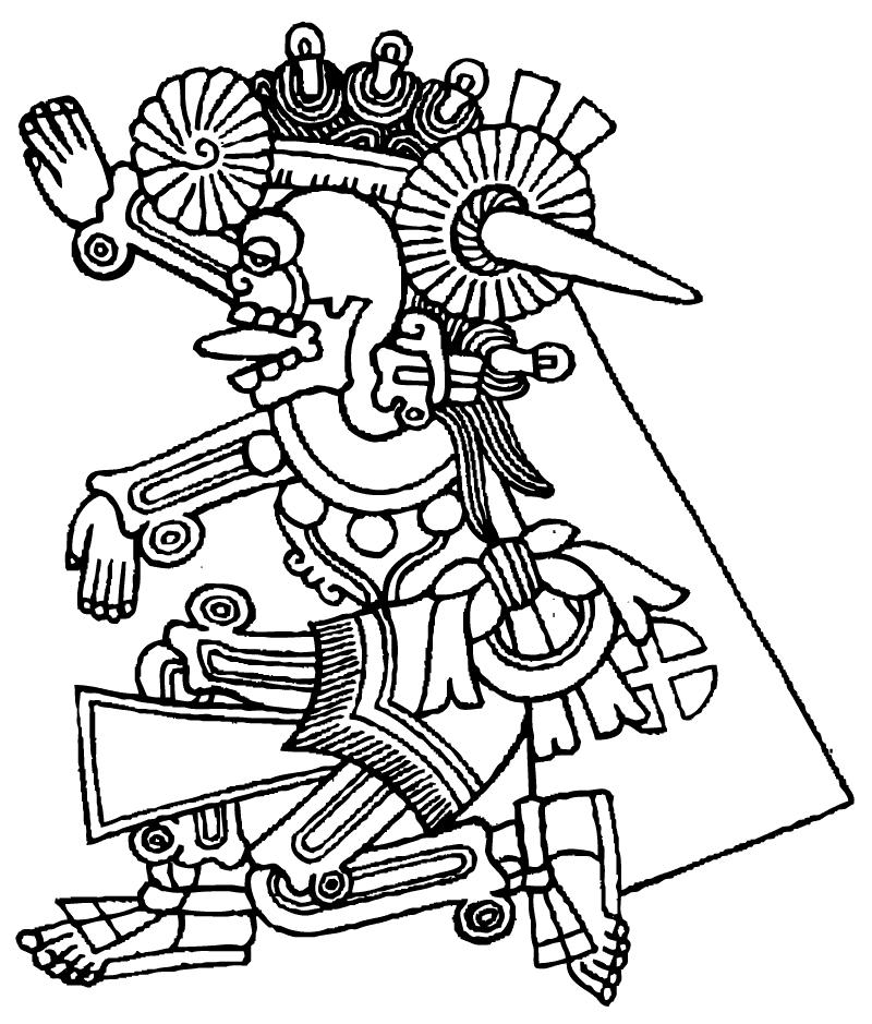 800x939 Aztec Mythology