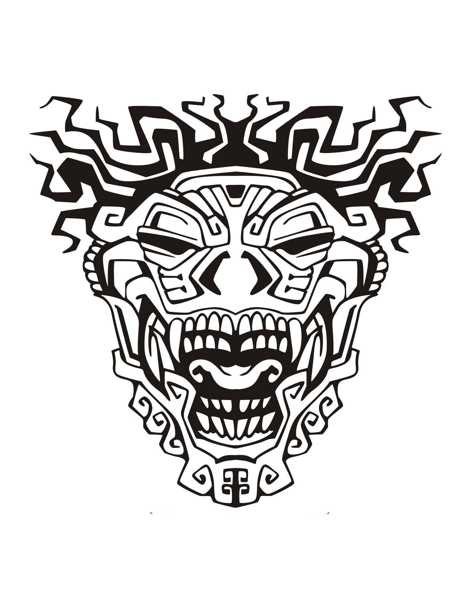 1636x2065 Mask Inspiration Inca Mayan Aztec 3 Mayans Amp Incas
