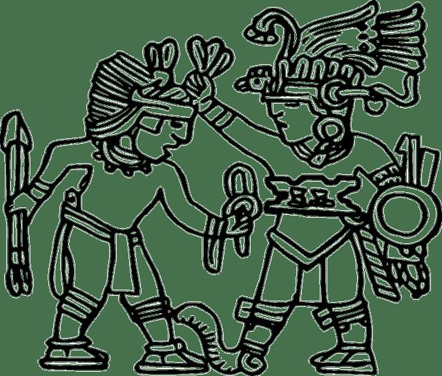640x544 Aztec Drawings