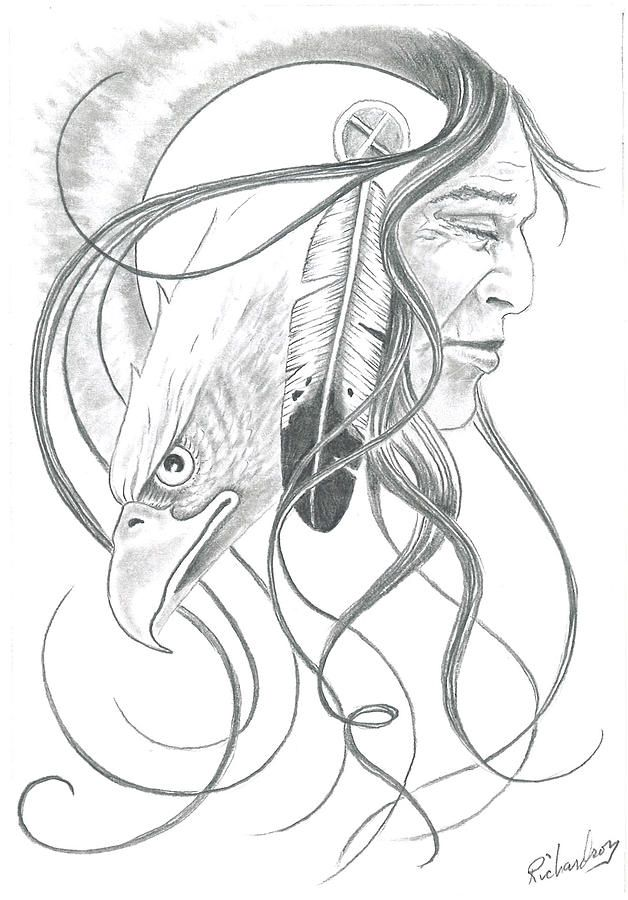 628x900 Native American Dream Catcher Drawings Native American Pencil