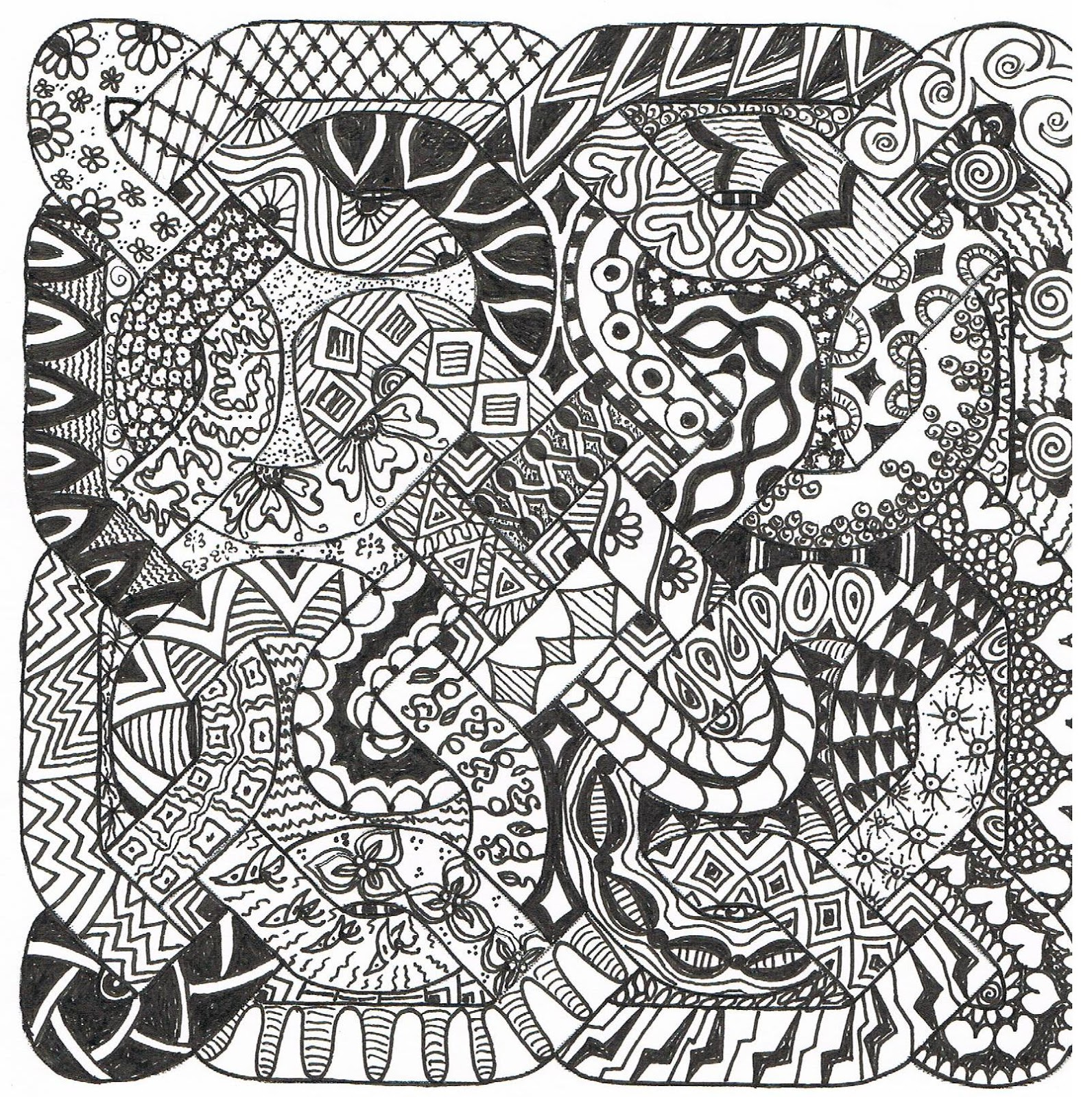 Aztec Pattern Drawing At Getdrawings