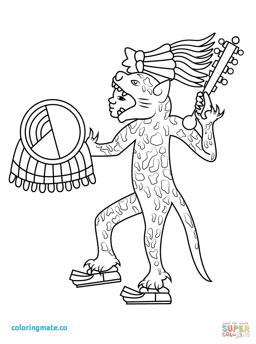 It's just a picture of Canny Aztec Princess Drawing