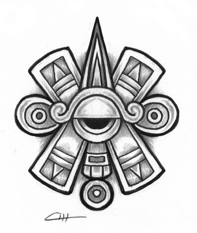 Aztec Pyramid Drawing At Getdrawings Free For Personal Use
