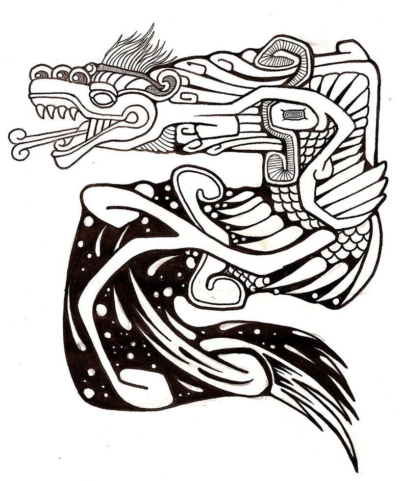 816x980 Quetzalcoatl By Novabuttz