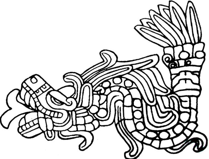 705x536 Quetzalcoatl Aztec