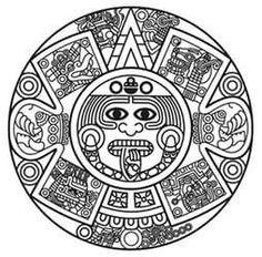236x232 Aztec Clipart Drawing
