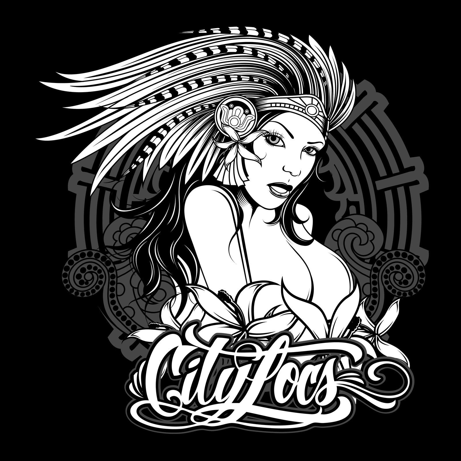 1600x1600 City Locs Aztec Girl By On @