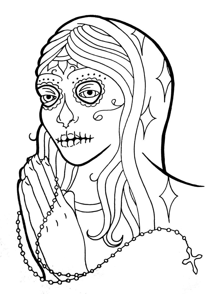 900x1216 More Like Virgin Mary Tattoo Shirt By Slugabedclothing
