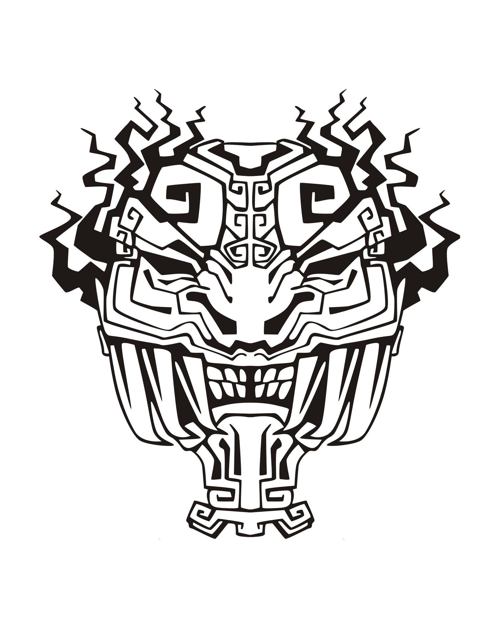 1636x2065 Mask Inspiration Inca Mayan Aztec 4 Mayans Amp Incas