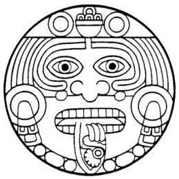 260x260 7 Best Aztec Sun Images On Aztec Culture, Aztec Art