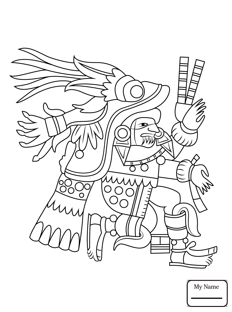 912x1223 Coloring Pages For Kids History Aztec Sun Stone Aztec Empire