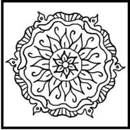 268x268 Aztec Coloring Pages To Download And Print For Free Aztec Sun