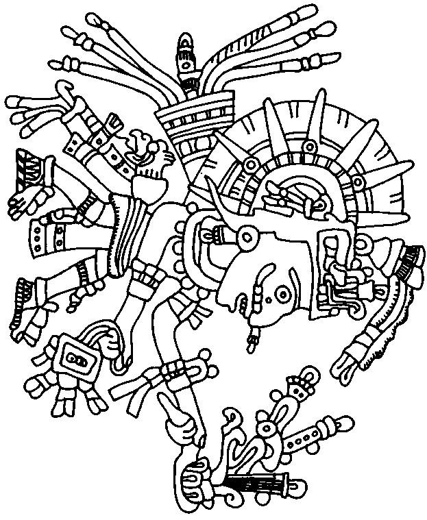 623x759 Aztec Warrior Printables Aztec Warrior Worksheet