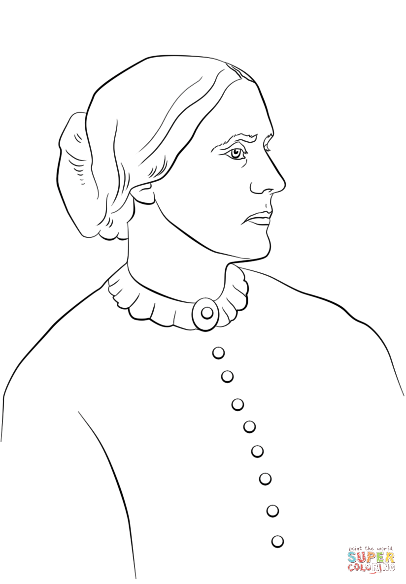 824x1186 Susan B. Anthony Coloring Page Free Printable Coloring Pages