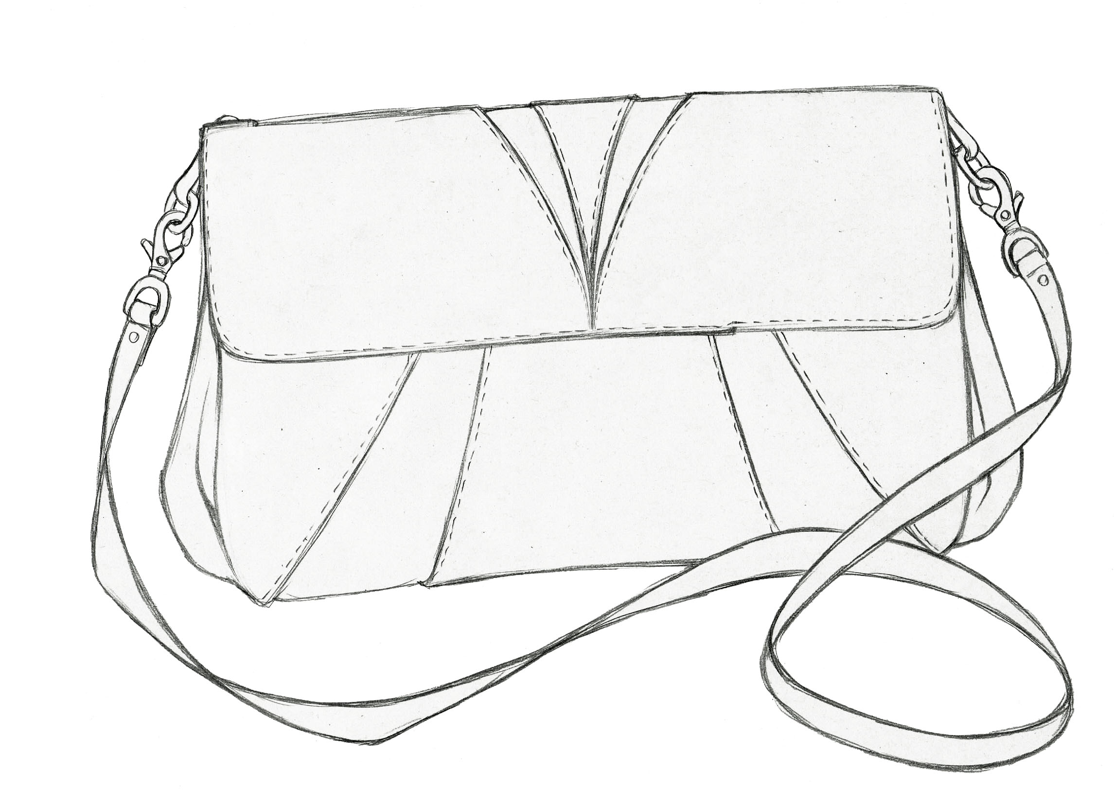 2291x1654 Small Bag B Design Small Bags, Sketches And Drawings