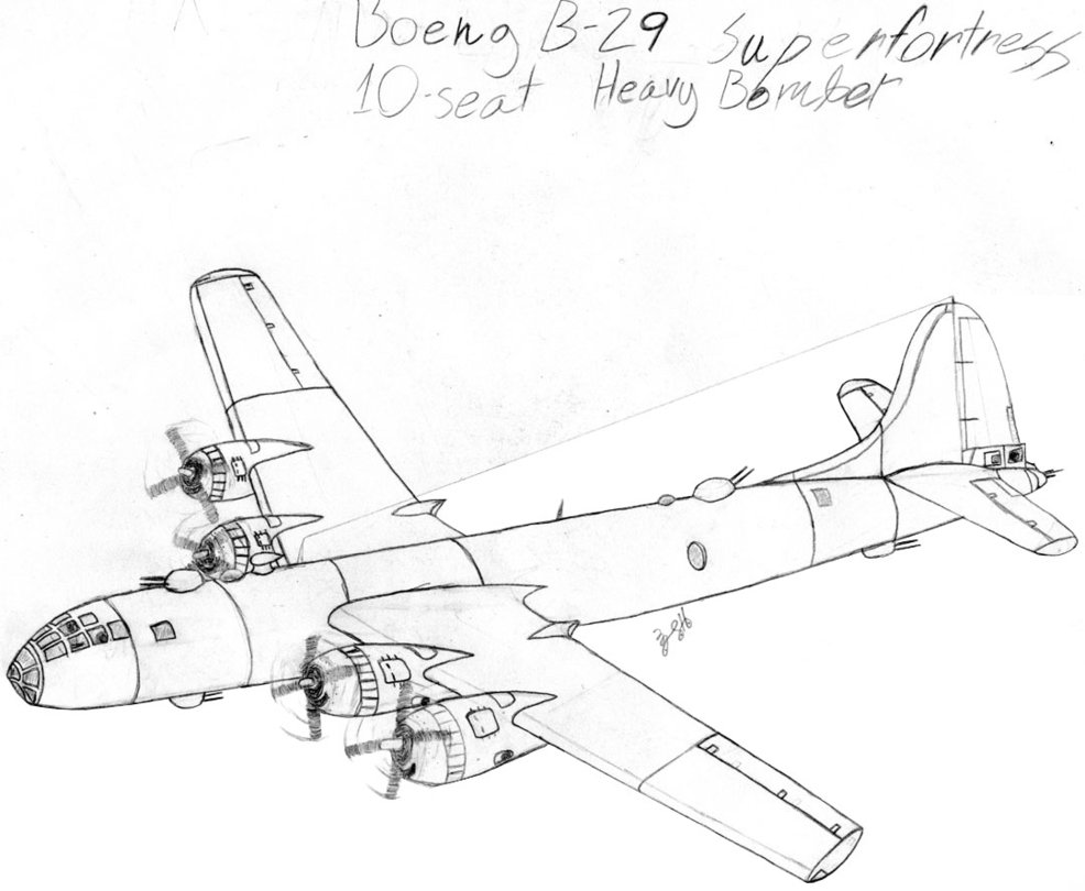 986x810 Boeng B 29 Superfortress Originalstage 1 By Dbstreasure