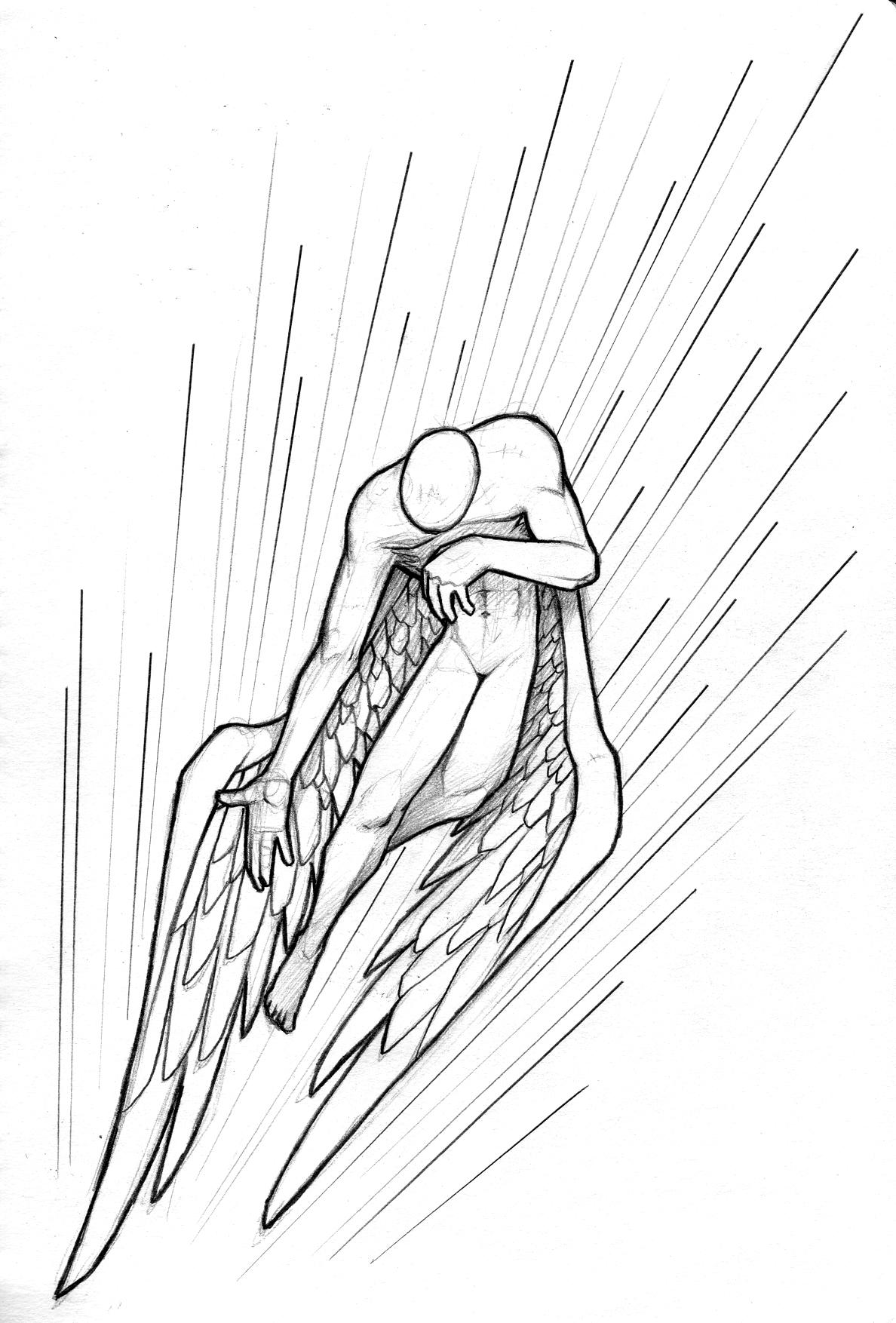 1188x1754 Flight Of An Angel By Genesis
