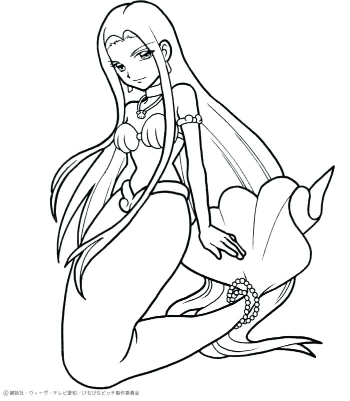 700x800 Mermaid Princess Coloring Pages Disney Baby Ariel On Disney