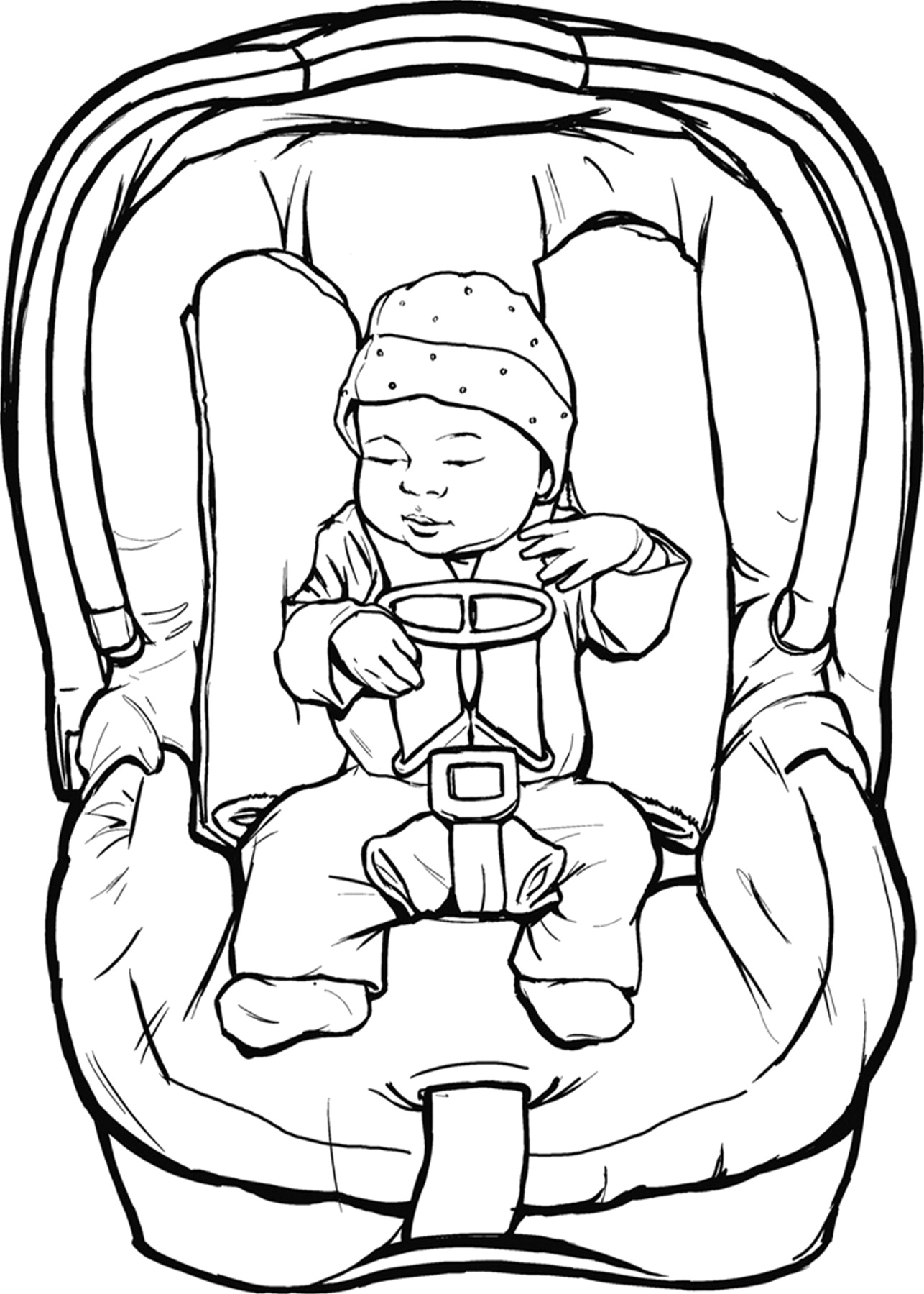 1286x1800 Bulky Coats Are Not For The Car Seat Cumberland Pediatric Foundation