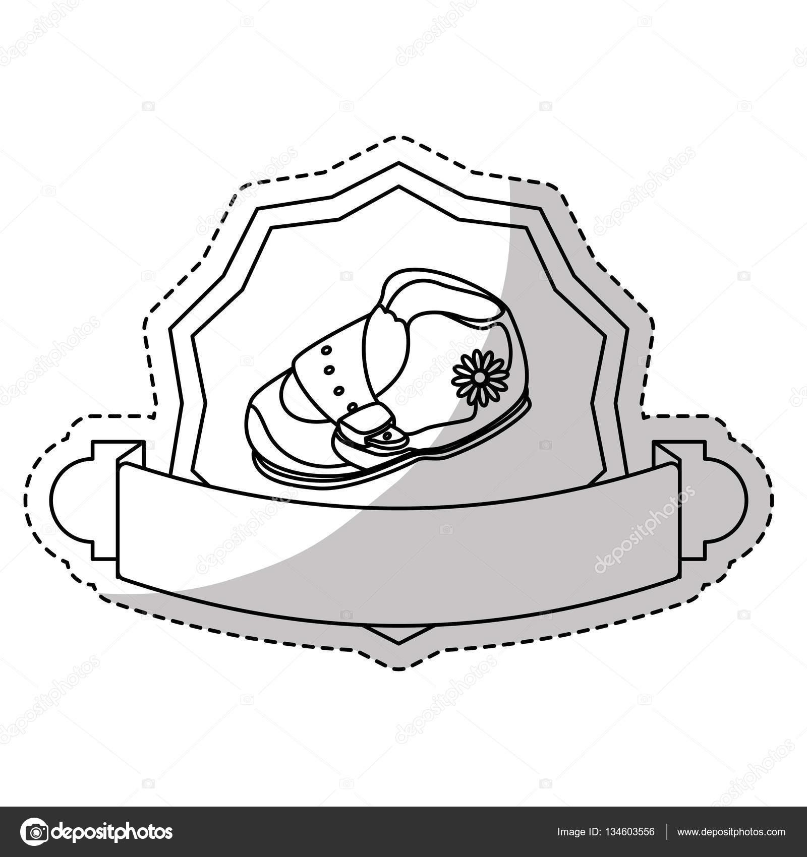 1600x1700 Baby Shoe Icon Stock Vector Djv