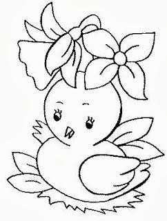 242x320 Dessin Peinture Poussin Plantillas Baby Booties