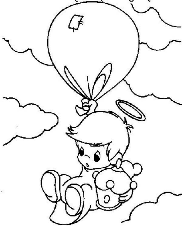 600x765 Precious Moments Boy Angel Coloring Pages Coloring Page For Kids