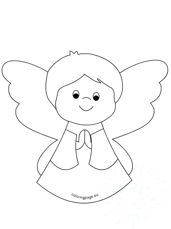 596x797 Baby Angel Coloring Pages Child Angel Coloring Pages Convobox.co