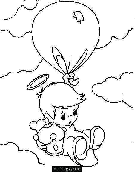 452x576 Baby Boy Coloring Pages Strikingly Beautiful Baby Angel Coloring