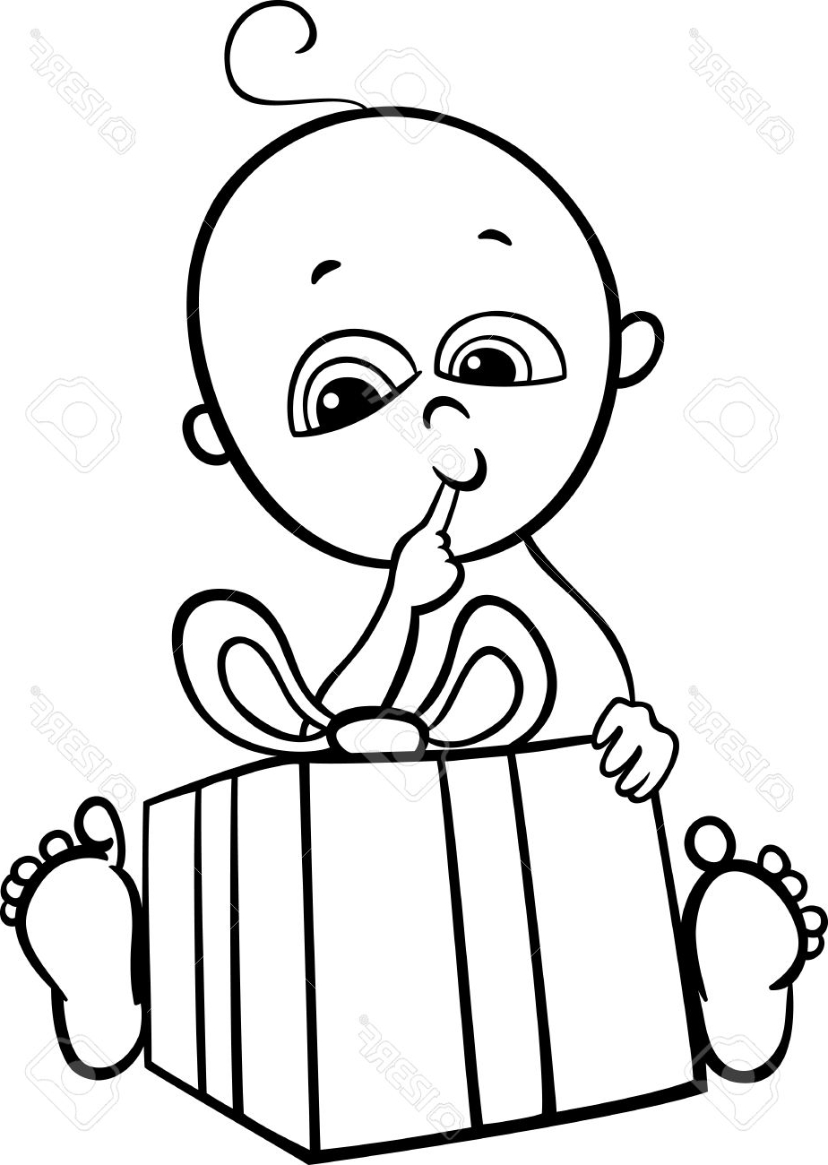 924x1300 Black Amp White Sketch Of Cartoon Little Boy Black And White Cartoon