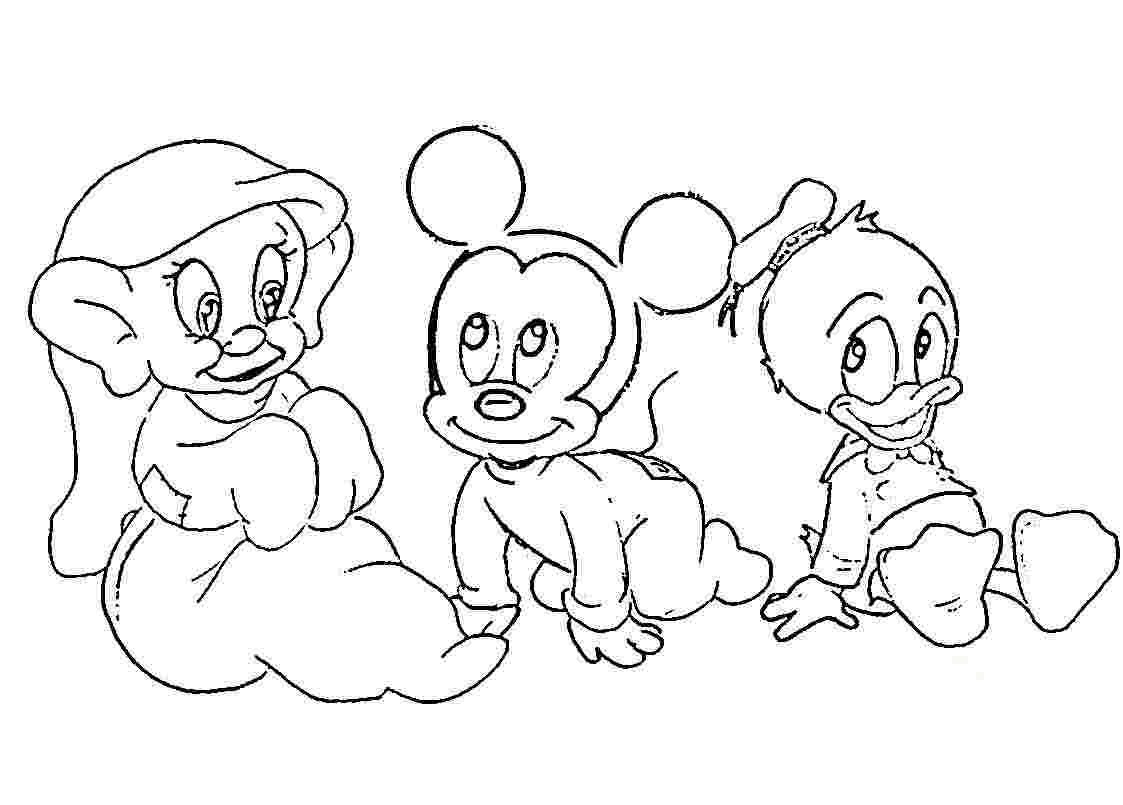1123x805 Baby Disney Cartoon Character Drawings Our Healthy