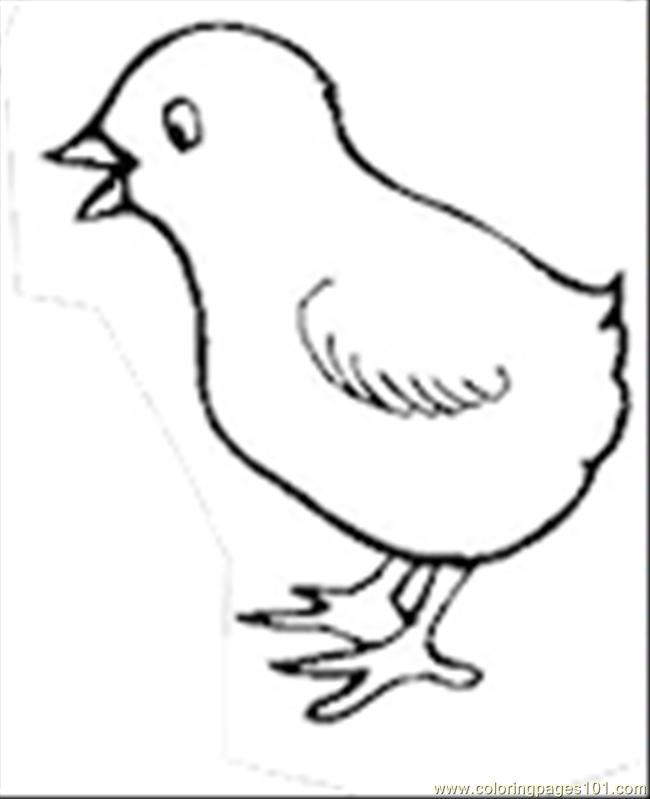 650x799 Top 66 Chick Coloring Pages