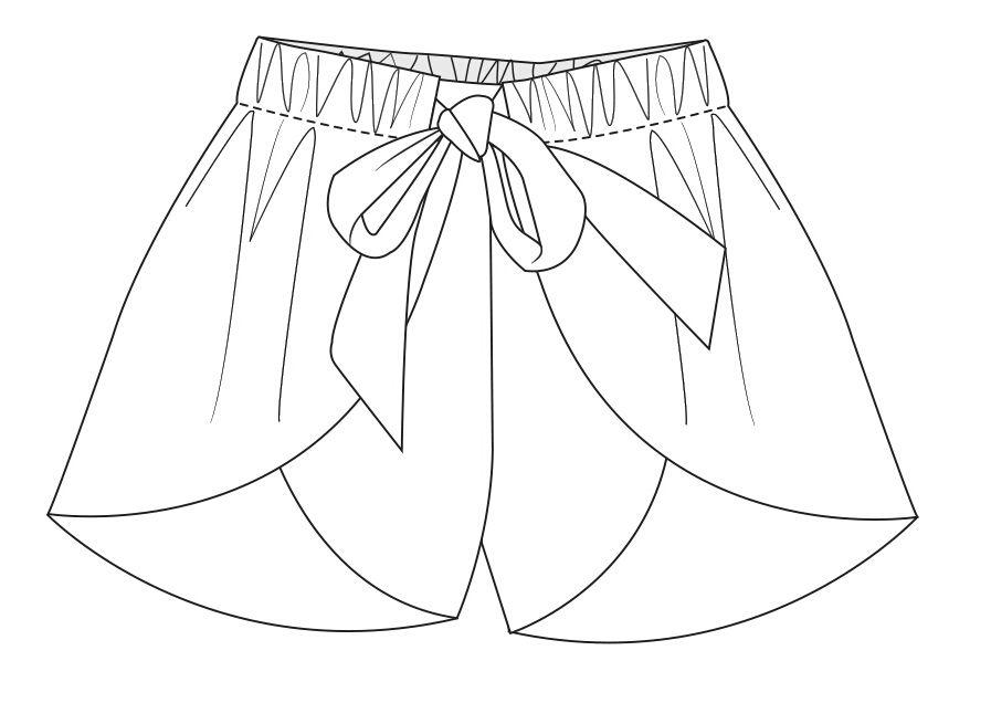 897x655 Technical Flats Kids Clothes Girls Boys Baby Babies