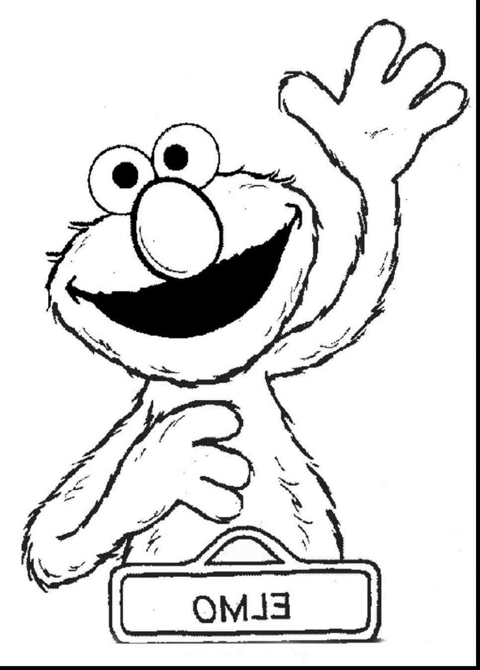 Baby Cookie Monster Drawing at GetDrawings Free for