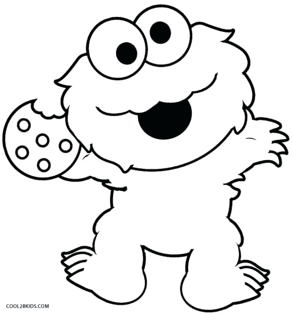 956x1024 Coloring Baby Elmo Pages