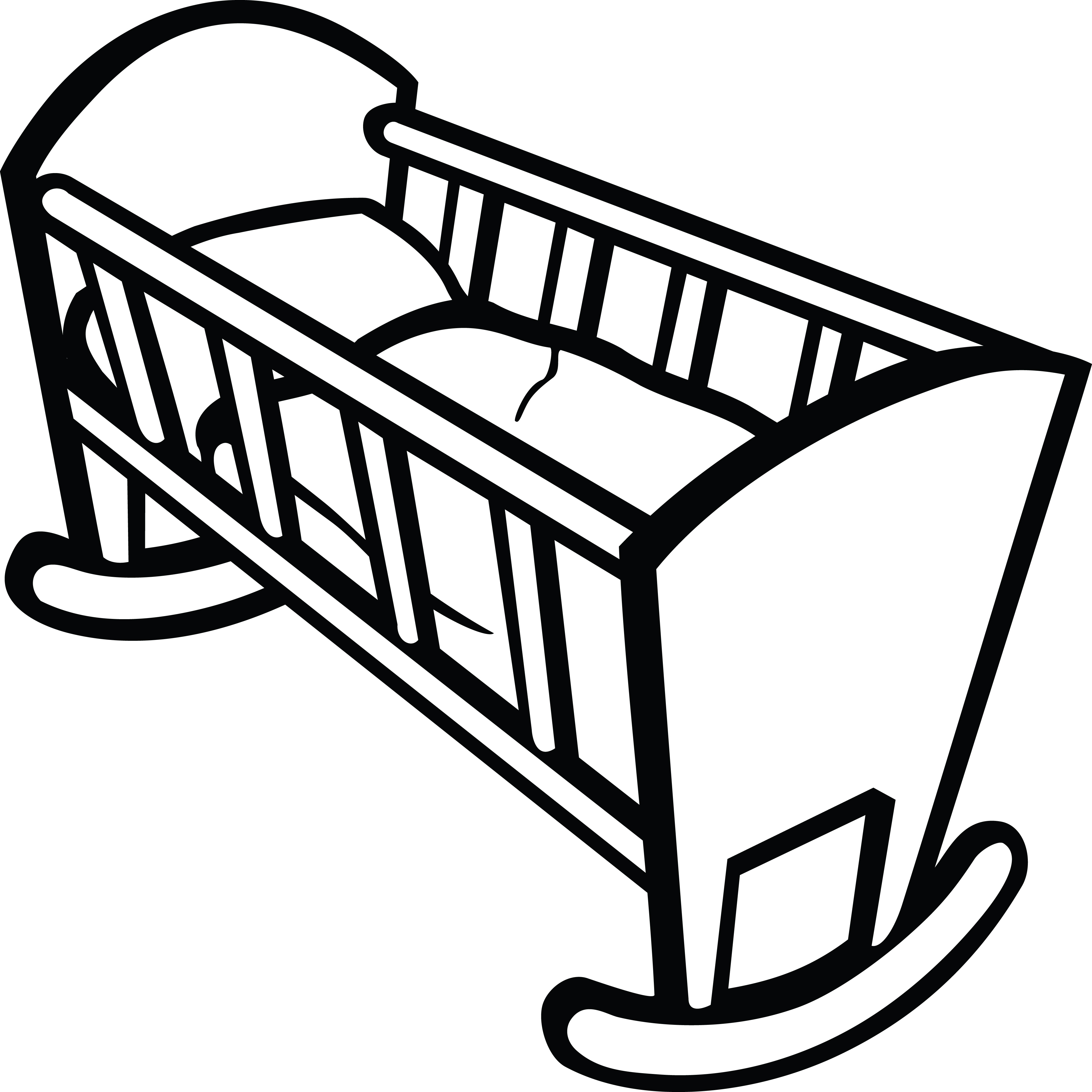 4000x4000 Clipart Of A Baby Crib Crib Cot, Filing And Free