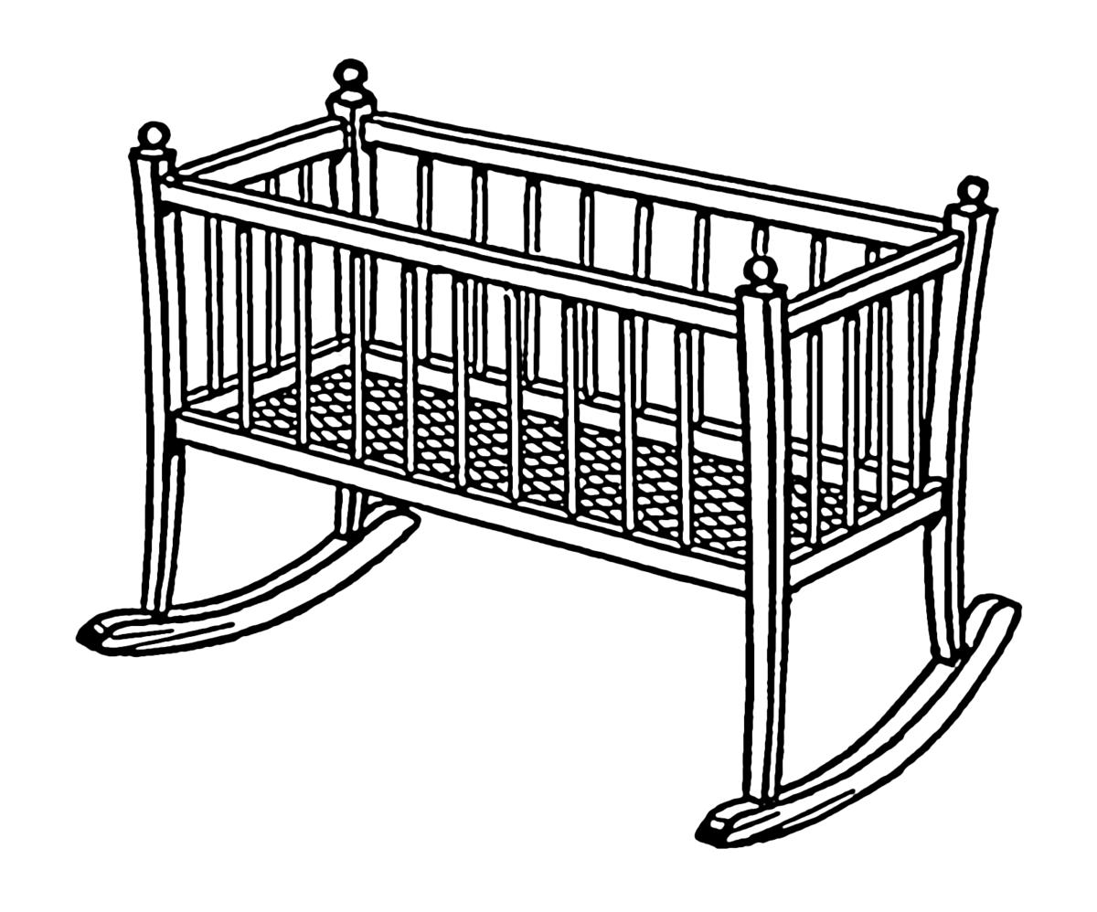 1200x998 Cradle (Bed)