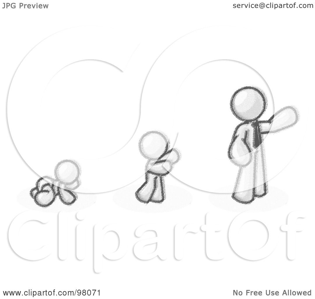 1080x1024 Royalty Free (Rf) Clipart Illustration Of A Sketched Design Mascot